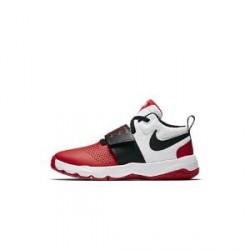 Nike Team Hustle D 8 - basketballsko til store børn - Rød