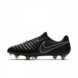 Nike Tiempo Legend VII Elite Anti-Clog Traction SG-PRO - fodboldstøvle (blødt underlag) - Sort