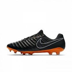 Nike Tiempo Legend VII Elite - fodboldstøvle (fast underlag) - Sort