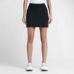 Nike Tournament Knit - golfskort til kvinder - Sort