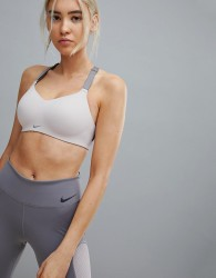 Nike Training Medium Support Studio Bra In Rose - Pink