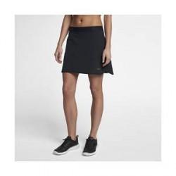 Nike Vævet Nike Flex-golfnederdel (38 cm) til kvinder - Sort