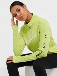Nike W Nk Midlayer Qz Swsh Run Træningstrøjer