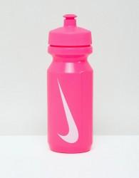 Nike Water Bottle In Pink - Pink