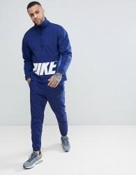 Nike Woven Hybrid Tracksuit Set In Blue 886511-429 - Blue