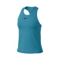 NikeCourt Dri-FIT Slam-tennistanktop til kvinder - Blå