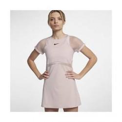 NikeCourt Maria-tenniskjole til kvinder - Lyserød