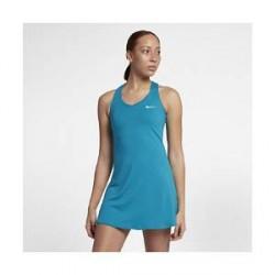 NikeCourt Pure - tenniskjole til kvinder - Blå