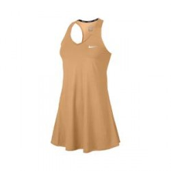 NikeCourt Pure - tenniskjole til kvinder - Orange