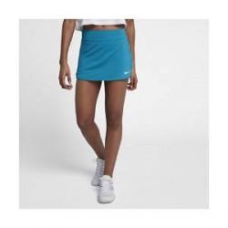 NikeCourt Pure-tennisnederdel (29 cm) til kvinder - Blå