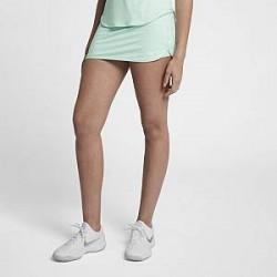 NikeCourt Pure-tennisnederdel (29 cm) til kvinder - Grøn