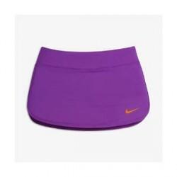 NikeCourt Pure - tennisnederdel til store børn (piger) - Lilla