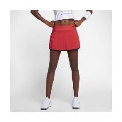 NikeCourt Victory - tennisnederdel til kvinder - Rød