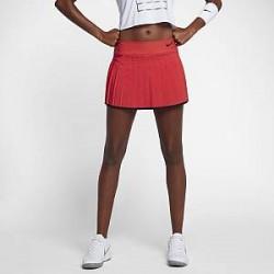NikeCourt Victory-tennisnederdel til kvinder - Rød