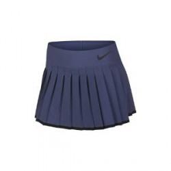 NikeCourt Victory-tennisnederdel til store børn (piger) - Blå