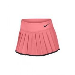 NikeCourt Victory-tennisnederdel til store børn (piger) - Lyserød