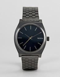 Nixon A045 Time Teller Bracelet Watch In Silver 37mm - Silver
