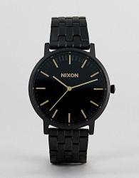 Nixon A1057 Porter Bracelet Watch In Black 40mm - Black