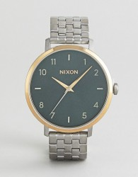 Nixon A1090 Arrow Bracelet Watch In Silver - Silver