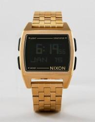 Nixon A1107 Base Digital Bracelet Watch In Gold - Gold