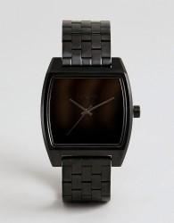 Nixon A1245 Time Tracker Bracelet Watch In Black - Black