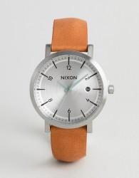 Nixon A984 Rollo 38 Leather Watch In Tan - Tan