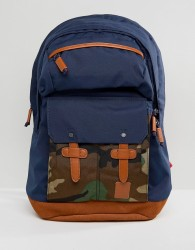 Nixon Canyon Backpack in Camo - Navy