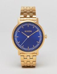 Nixon Porter Bracelet Watch In Gold - Gold
