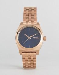 Nixon Rose Gold Medium Time Teller Watch - Gold