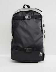 Nixon Smith III Backpack with Skate Straps - Black