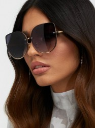 NLY Accessories 70's Glam Sunglasses Solbriller