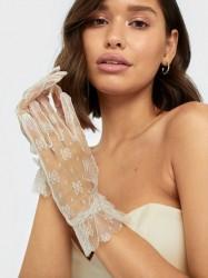 NLY Accessories Cherie Lace Gloves Vanter & handsker