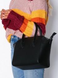 NLY Accessories Perfect Shopper Bag Håndtaske Sort