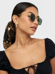 NLY Accessories Round Retro Sunglasses Solbriller