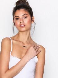 NLY Accessories Swipe Right Necklace Halskæde Guld