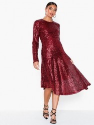 NLY Eve Assymetric Sequin Dress Pailletkjoler
