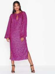 NLY Eve Bold Sleeve Sequin Dress Pailletkjoler