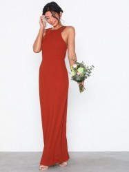 NLY Eve Lace Back Crepe Gown Maxikjoler