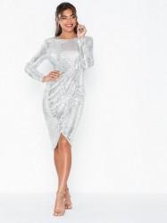 NLY Eve Padded Sequin Dress Pailletkjoler