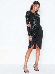 NLY Eve Padded Sequin Dress Pailletkjoler