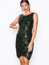 NLY Eve Panel Beaded Short Dress Pailletkjoler