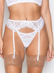 NLY Lingerie Lace Suspender Belt Shaping & Support