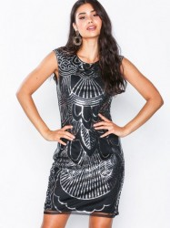 NLY One Art Deco Dress Pailletkjoler