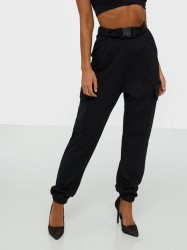 NLY One Buckle Cargo Trousers Bukser