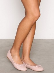 NLY Shoes Ballerina Ballerina Dusty Pink