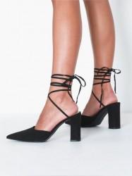 NLY Shoes Block Strap Pump Pumps