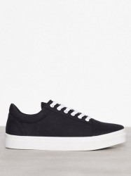 NLY Shoes Canvas Sneaker Low Top Sort