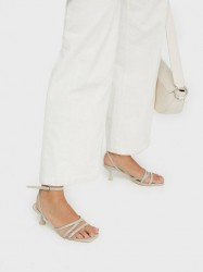 NLY Shoes Classy Cool Heel Sandal Low Heel