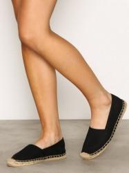 NLY Shoes Espadrilles Espadrilles Sort