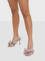 NLY Shoes Flirty Bow Mule Low Heel